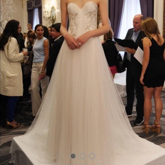2d8c153ab4 Marchesa stapless Grecian wedding gown. M_5a693e809a9455ad030e8975